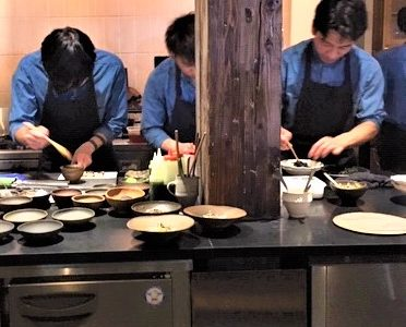 Kabi: An eclectic restaurant in Tokyo